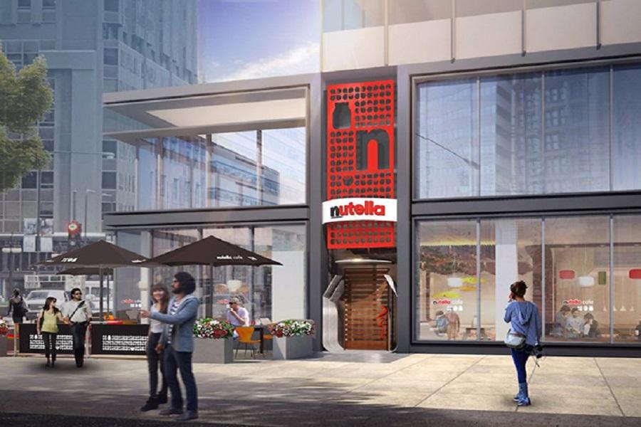 Nutella abre cafeteria com menu delícia, em Chicago