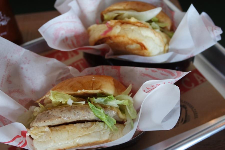 Venice: o sanduíche de frango orgânico do Páprica.