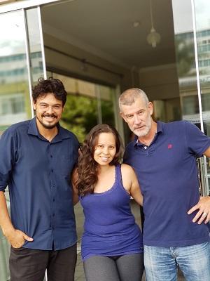 Paulo Lima, Ingrid e Joel Baesse comandam o novo Martinica Café