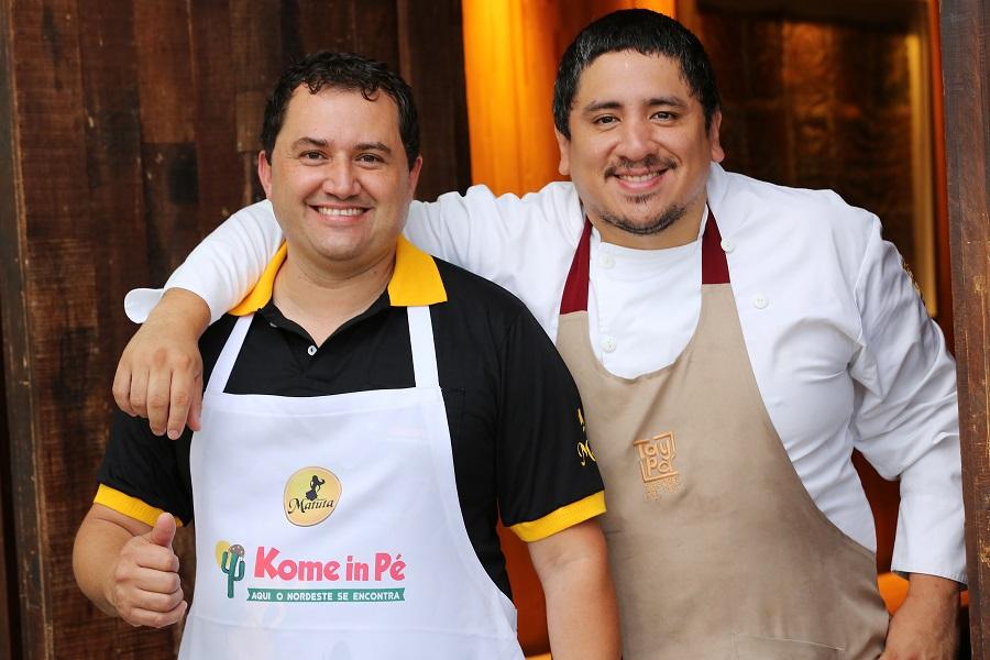 Marco Espinoza homenageia comida de feira no Taypá