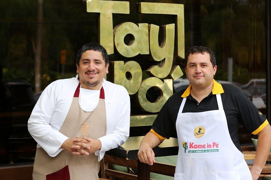 Agora é Marco Espinoza que cozinha na feira