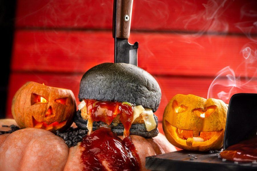 Camarão Burger lança sanduíche para o Halloween