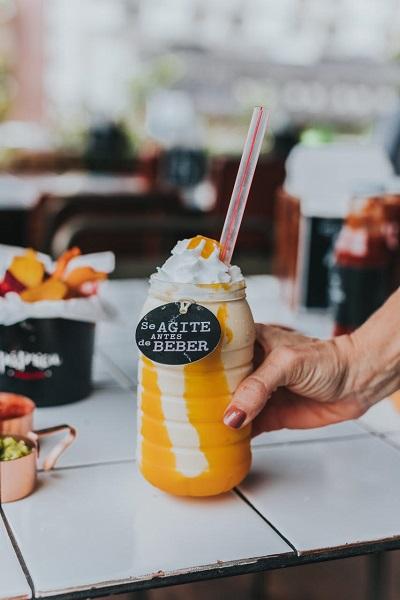 Shake de mousse de maracujá do Páprica Burger