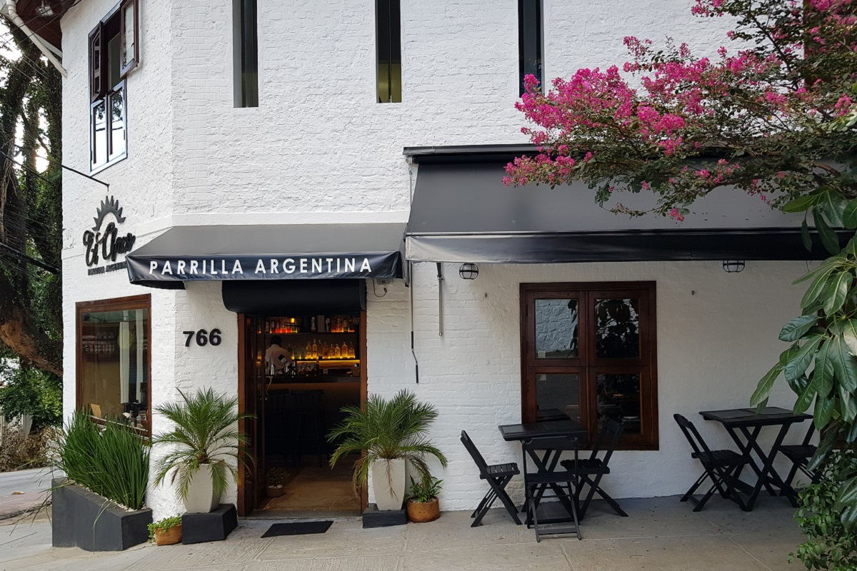 Fachada do restaurante El Chaco Parrilla Argentina, que fica em perdizes, São Paulo. Foto: Luciana Barbo