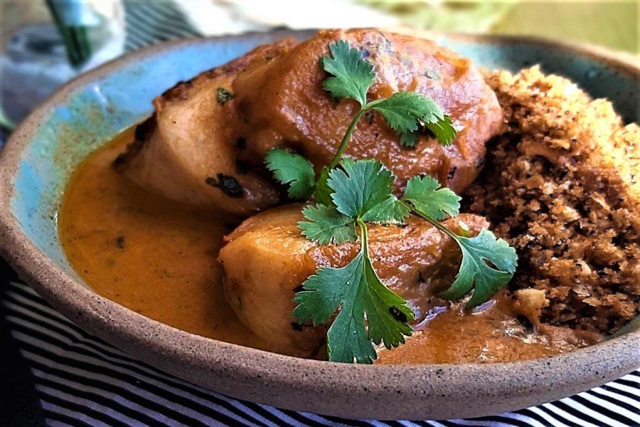 Pirarucu ao molho tailandês, uma delícia picante e refrescante