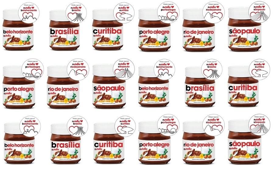 Nutella declara amor por Brasília