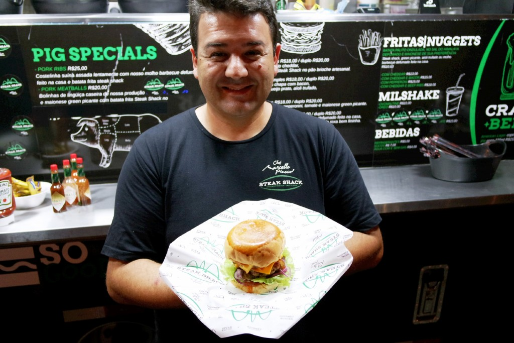 Marcello Piucco deixa El Negro e lança Steak Shack