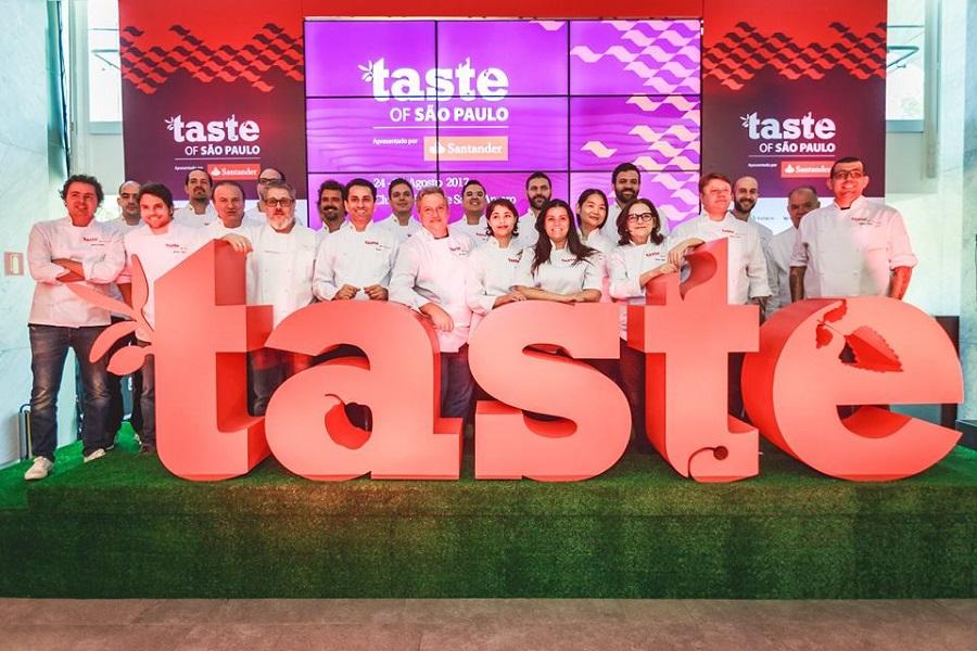 Confira a programação do Taste of São Paulo