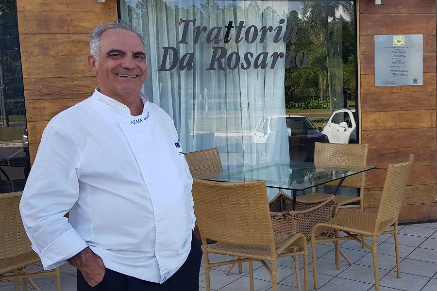 Trattoria da Rosario tem salmão no menu pela primeira vez