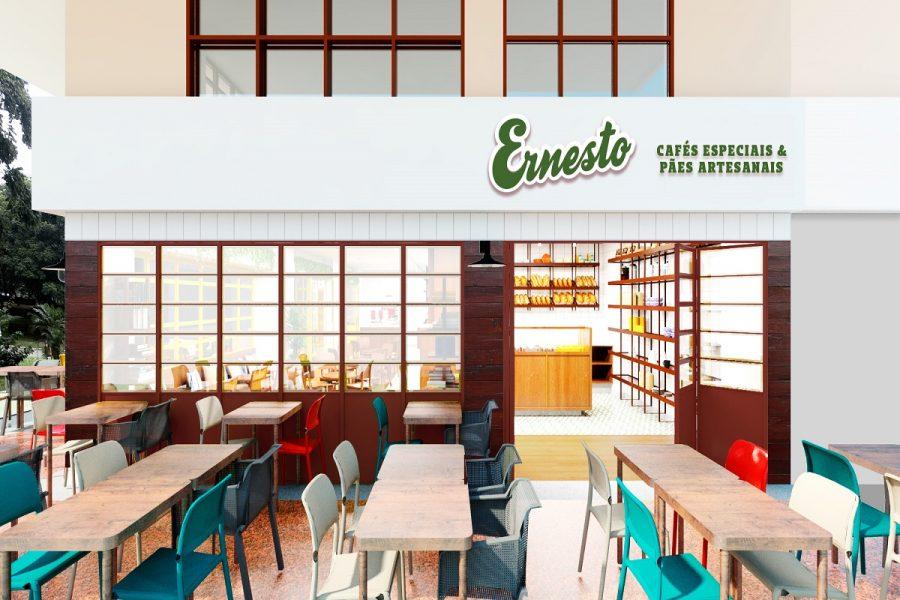 Ernesto Café abre na 108 Norte, no início de outubro
