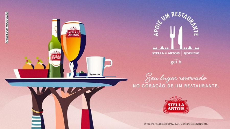 Stella Artois e Nespresso retomam apoio a restaurantes