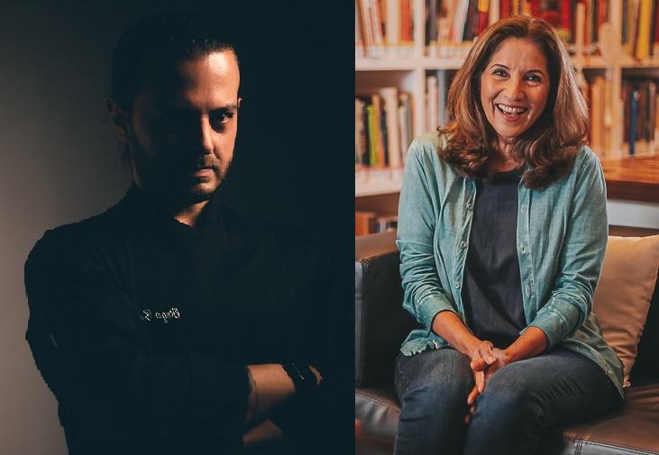 Diego Badra e Valeria Vieira estão no canal Sabor & Arte